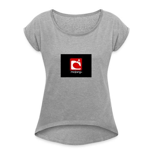 mojan. - Women's Roll Cuff T-Shirt