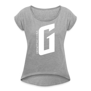 White G - Women's Roll Cuff T-Shirt