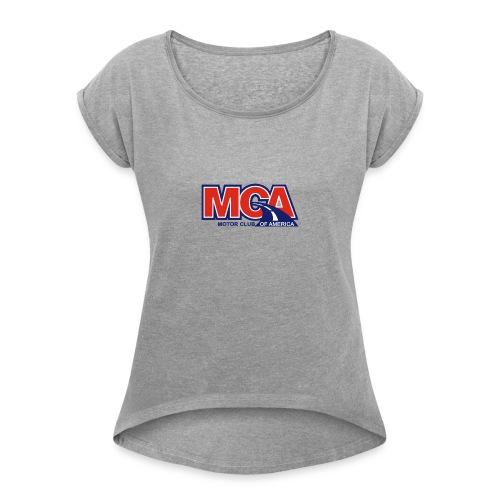 MCA GEAR - Women's Roll Cuff T-Shirt