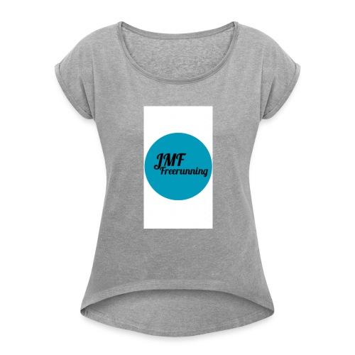 IMG_2111 - Women's Roll Cuff T-Shirt