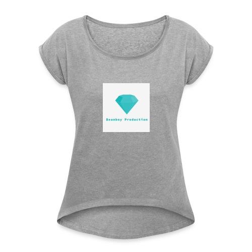Beanboy production - Women's Roll Cuff T-Shirt