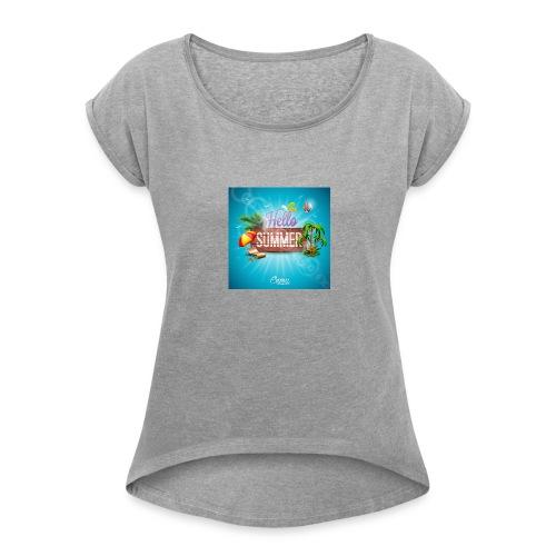 AEFEE3D8 941F 4739 9419 DDE59C9FC46F - Women's Roll Cuff T-Shirt