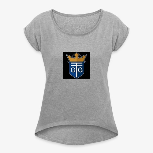 Rain Productions Nation - Women's Roll Cuff T-Shirt