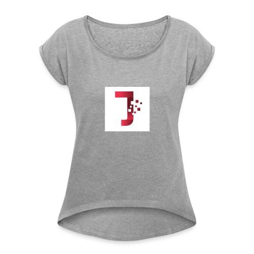 1500362963015 - Women's Roll Cuff T-Shirt
