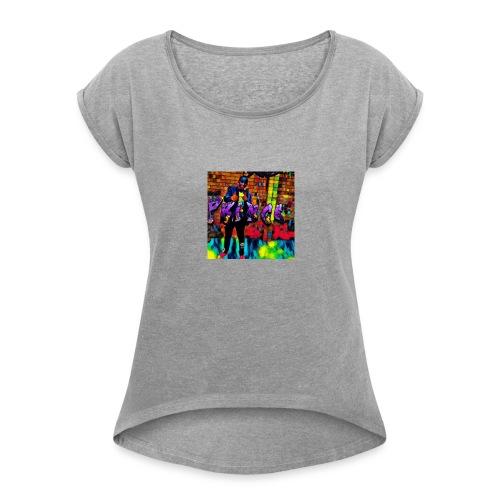 Prince jelly zone - Women's Roll Cuff T-Shirt