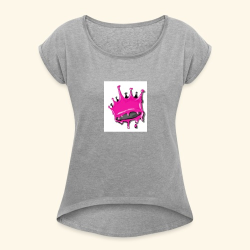 QUEENSETAPART! - Women's Roll Cuff T-Shirt