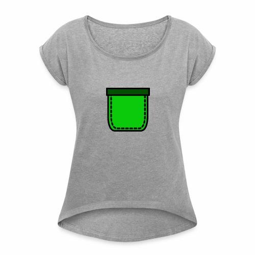 Tasku - Women's Roll Cuff T-Shirt