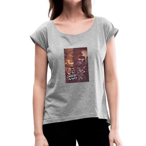 $avage$ - Women's Roll Cuff T-Shirt