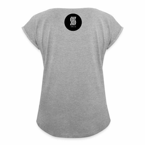 rakishe streamlined appearance - Women's Roll Cuff T-Shirt