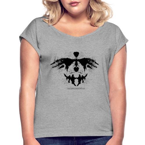 Rorschach - Women's Roll Cuff T-Shirt