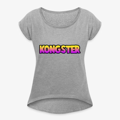 Kongster - Women's Roll Cuff T-Shirt