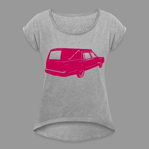Hearse - Women's Roll Cuff T-Shirt
