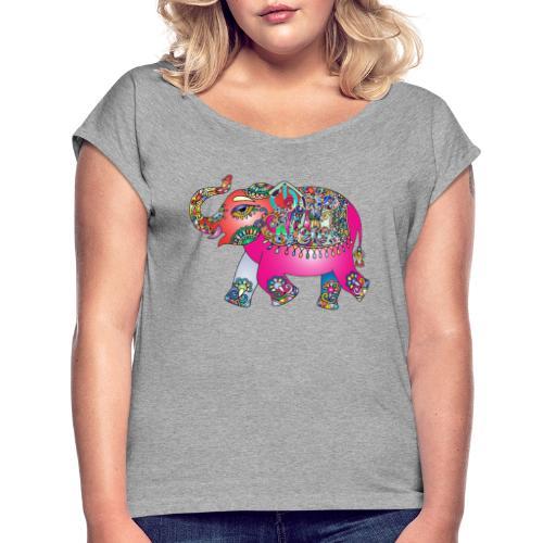 Elefante ON - Women's Roll Cuff T-Shirt