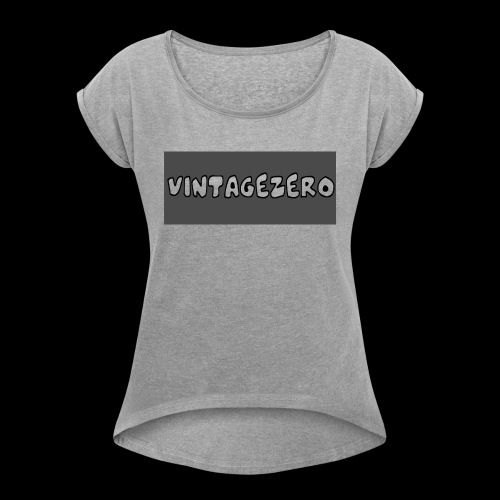 VintageZero - Women's Roll Cuff T-Shirt