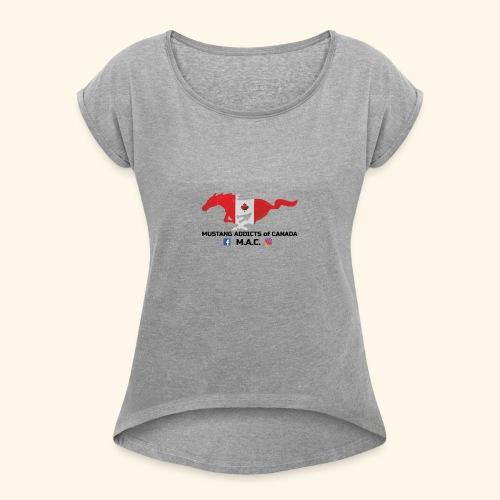 origonal - Women's Roll Cuff T-Shirt