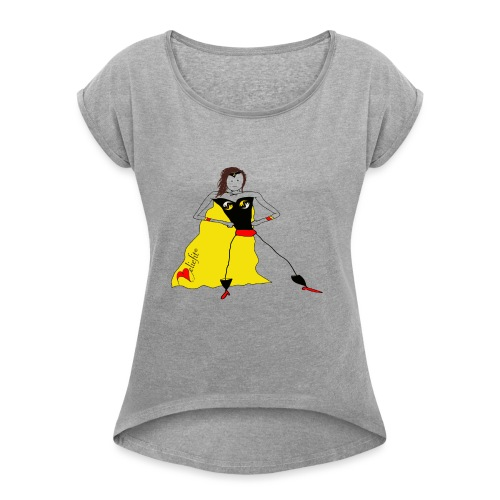 Super Me - Women's Roll Cuff T-Shirt