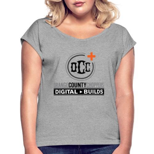occ plus - Women's Roll Cuff T-Shirt