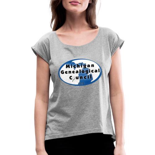 MGC Logo - Women's Roll Cuff T-Shirt