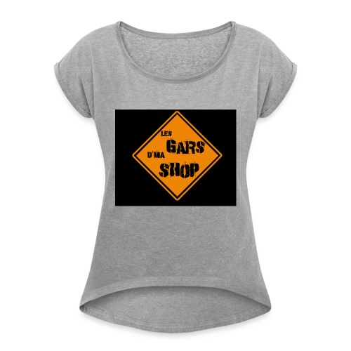 shop_n - Women's Roll Cuff T-Shirt