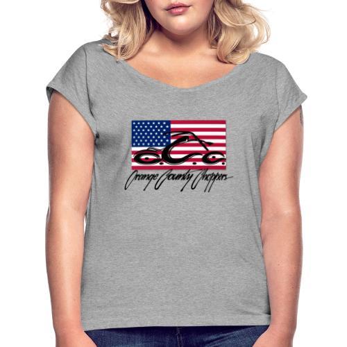 OCC America - Women's Roll Cuff T-Shirt