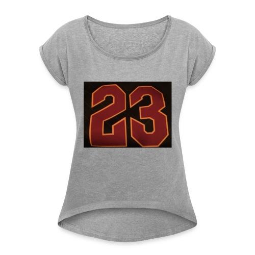 23 - Women's Roll Cuff T-Shirt