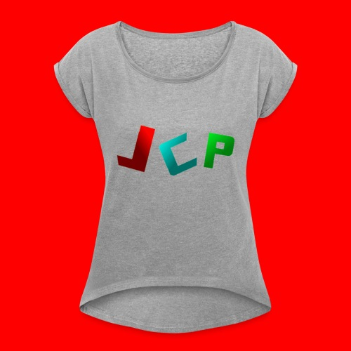 freemerchsearchingcode:@#fwsqe321! - Women's Roll Cuff T-Shirt