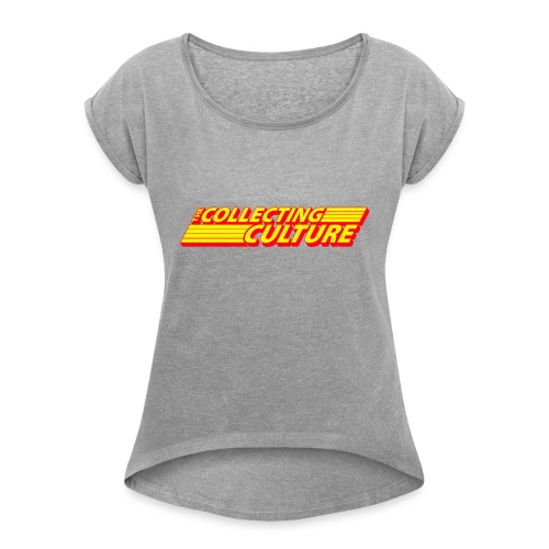 The Collecting Culture - Women's Roll Cuff T-Shirt