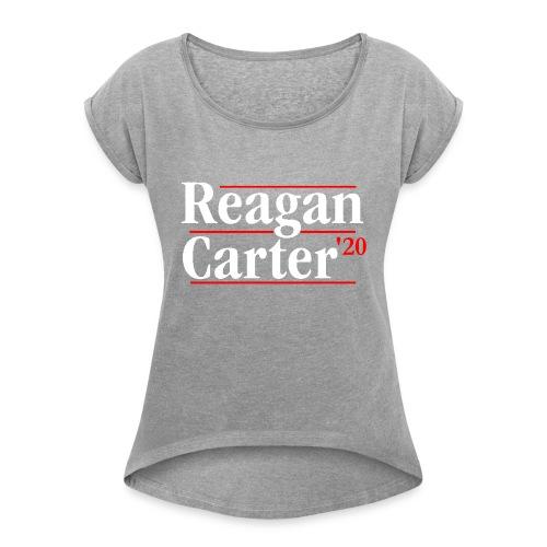 Reagan Carter - Women's Roll Cuff T-Shirt