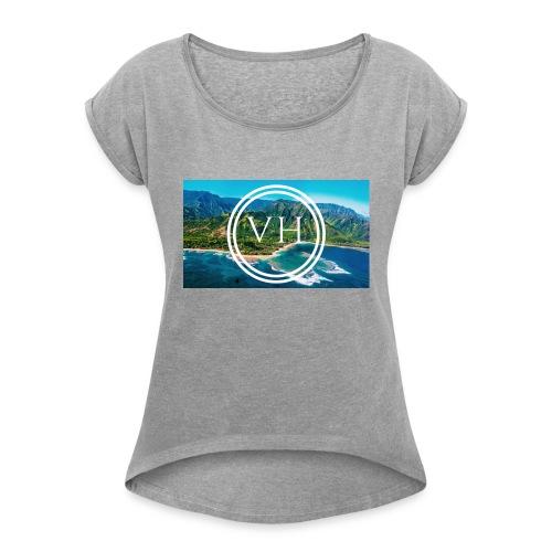 Voyage Hawaii - Women's Roll Cuff T-Shirt