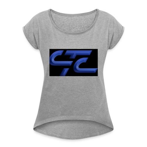 4CA47E3D 2855 4CA9 A4B9 569FE87CE8AF - Women's Roll Cuff T-Shirt