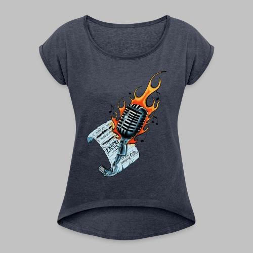 Final Art - Women's Roll Cuff T-Shirt