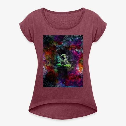 Astronaut - Women's Roll Cuff T-Shirt