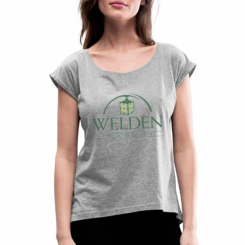 Welden Village Community Store - Women's Roll Cuff T-Shirt