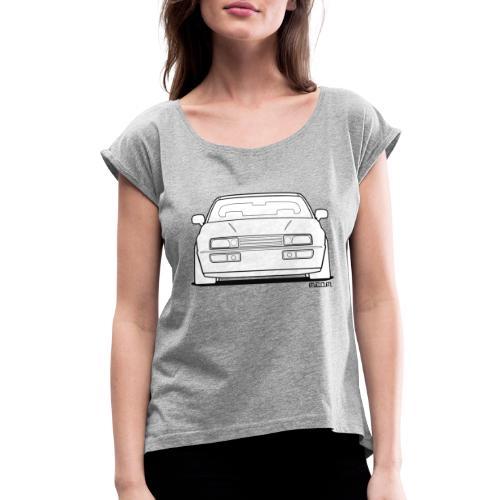 Wolfsburg Rado Outline - Women's Roll Cuff T-Shirt