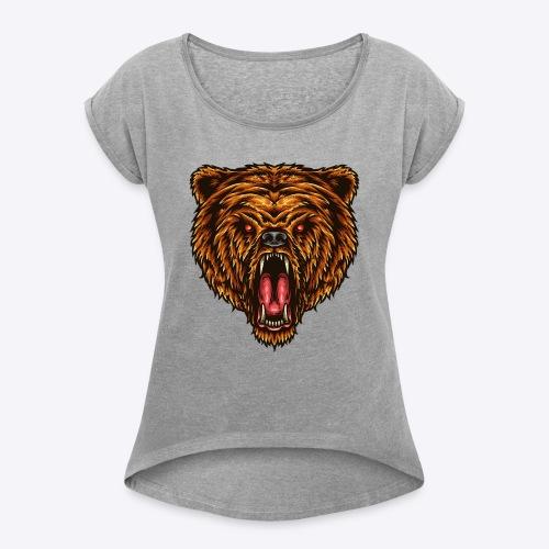 The Great Power - Women's Roll Cuff T-Shirt