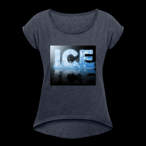 CDB5567F 826B 4633 8165 5E5B6AD5A6B2 - Women's Roll Cuff T-Shirt