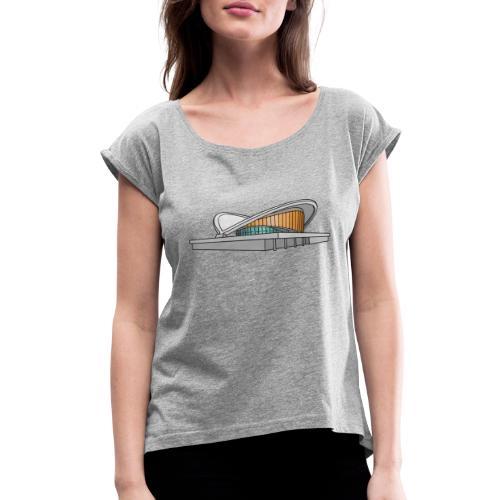 Congress Hall BERLIN - Women's Roll Cuff T-Shirt