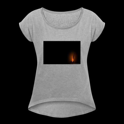 Fire-Links - Women's Roll Cuff T-Shirt