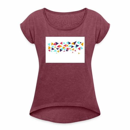 T shirt - Women's Roll Cuff T-Shirt