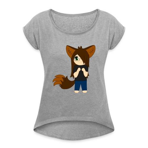 Khibi Kibi - Women's Roll Cuff T-Shirt