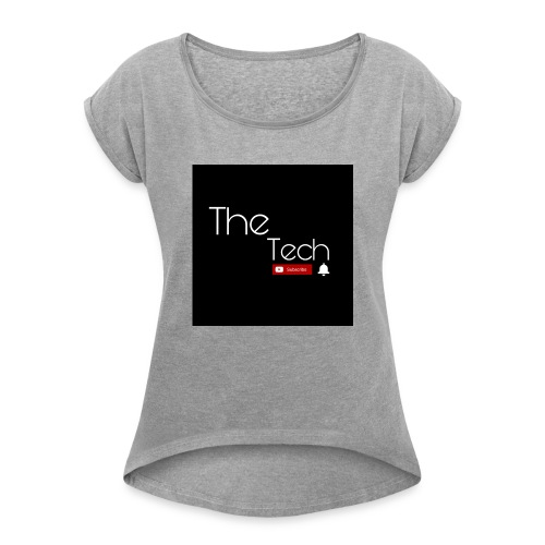 The Tech t-shirts - Women's Roll Cuff T-Shirt