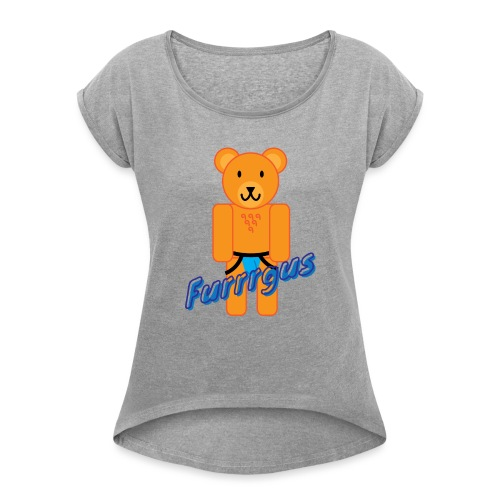 Furrrgus @ Underbear - Women's Roll Cuff T-Shirt