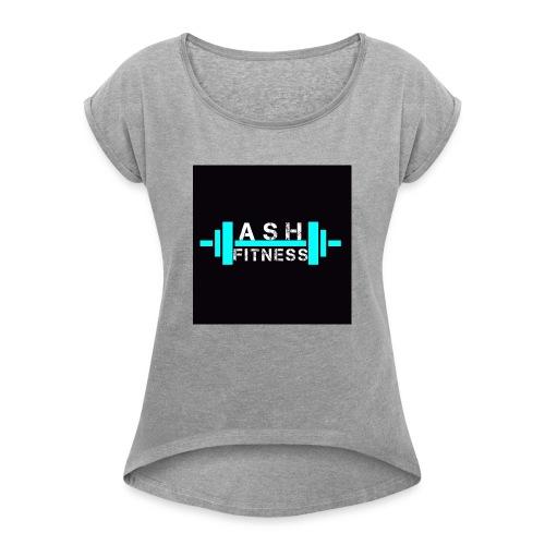 ASH FITNESS ACCESSORIES - Women's Roll Cuff T-Shirt