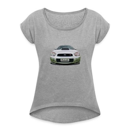 Subaru WRX Second Generation - Women's Roll Cuff T-Shirt