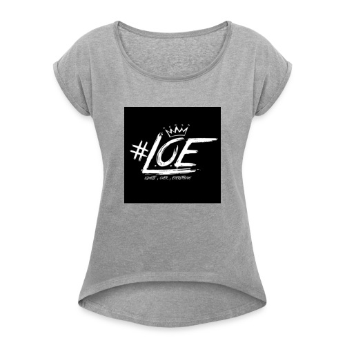 IMG 20170702 015640 - Women's Roll Cuff T-Shirt