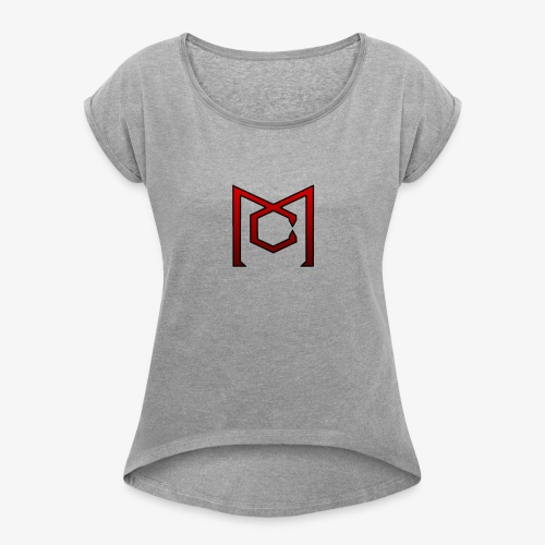 Military central - Women's Roll Cuff T-Shirt