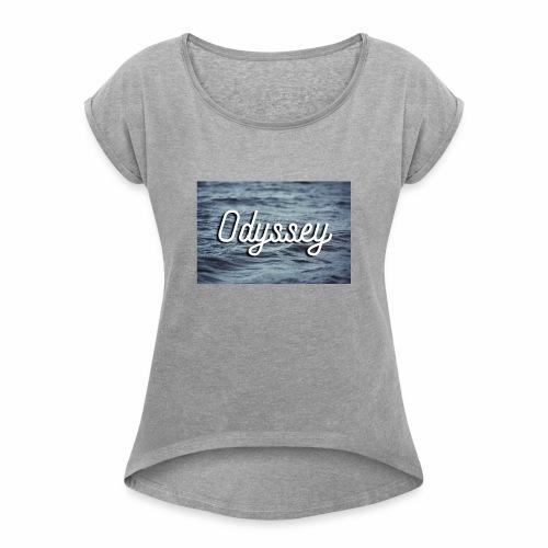 WaterOdyssey - Women's Roll Cuff T-Shirt