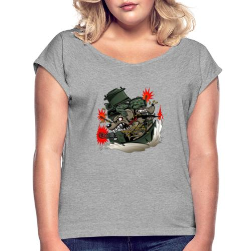 River Rats - Women's Roll Cuff T-Shirt