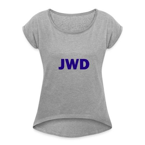 JevWD Merch - Women's Roll Cuff T-Shirt