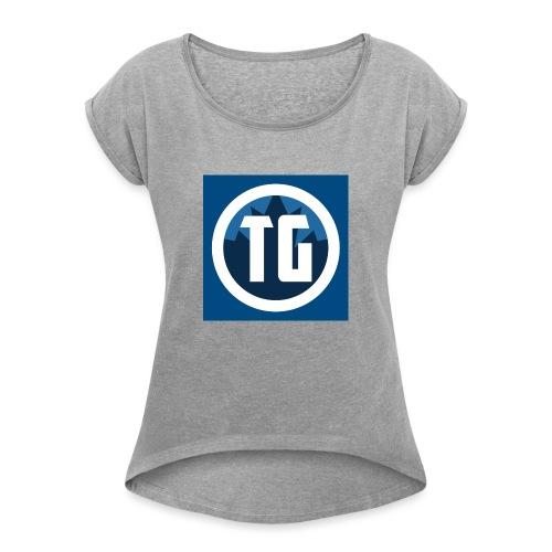 Typical gamer - Women's Roll Cuff T-Shirt